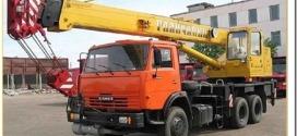 Какие работы выполняет автокран 16 тонн