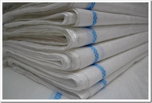 Применения полипропиленовых мешков в зависимости от цвета тары