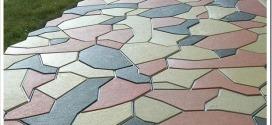 Виды и свойства вибролитой тротуарной плитки