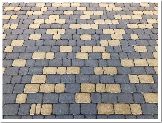 Характеристики и как класть тротуарную плитку Старый город