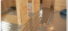 Как правильно выбрать теплый пол для деревянного дома?