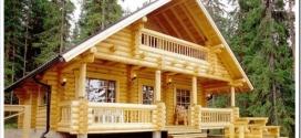 Характеристики домов из оцилиндрованного бревна