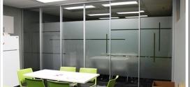 Технология тонировки стеклянных перегородок в офисах