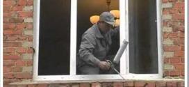 Как устанавливают пластиковые окна в кирпичном доме