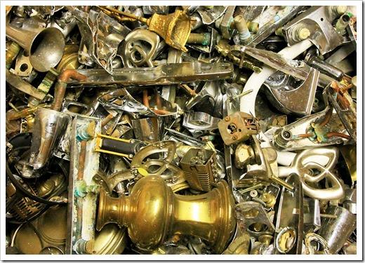 Особенности сдачи латуни в металлолом, виды лома латуни и по какой цене за 1 кг её принимают