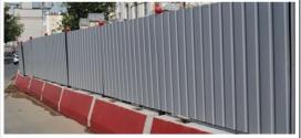 Виды ограждений для строительной площадки и особенности монтажа