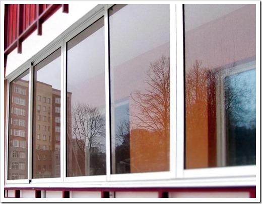 Насколько холодно будет на балконе зимой?