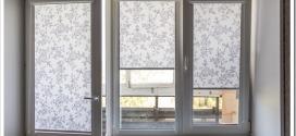 Как выбирать рулонные шторы на пластиковые окна