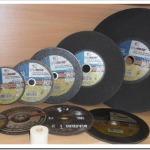 Классификация отрезных дисков