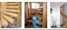 Как сделать деревянную винтовую лестницу