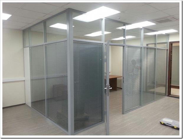 Виды офисных перегородок и технология их монтажа