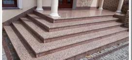 Гранитные ступени для лестниц — характеристики и монтаж