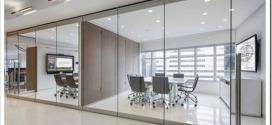 Особенности изготовления и монтажа стеклянных перегородок