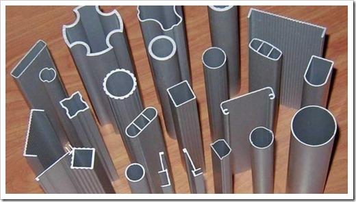 Разновиды профильных алюминиевых элементов