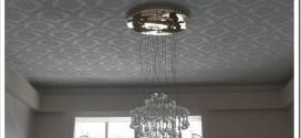 Чем хороши тканевые натяжные потолки?