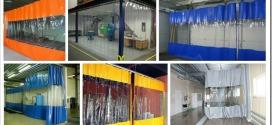 ПВХ шторы и завесы — виды и сфера применения