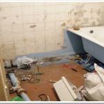 С чего начать демонтаж сантехники?