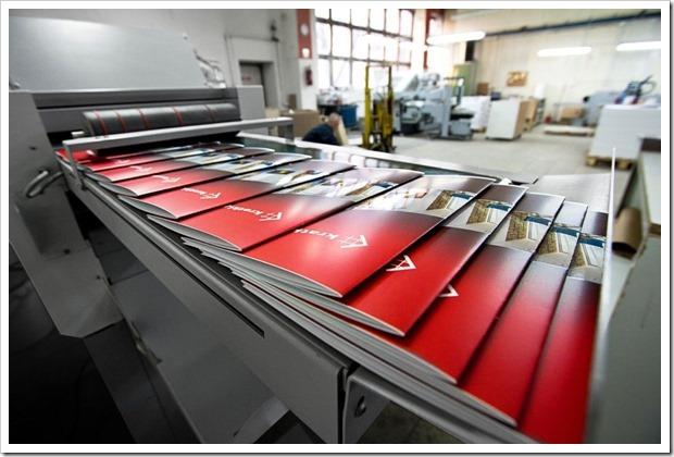 Технология печати рекламных буклетов и каталогов