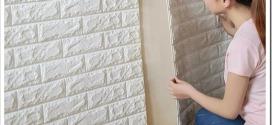 Самоклеющиеся 3D панели для стен — характеристики и особенности монтажа