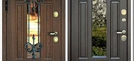 Входные двери со стеклом — виды и где применяются