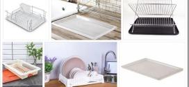 Виды поддонов для сушки посуды и как выбрать