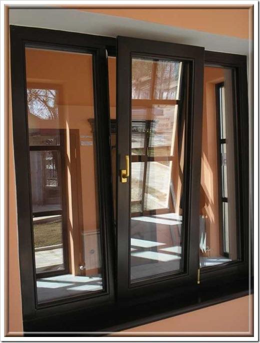Алюмо-деревянные и шведские окна