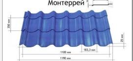 Виды металлочерепицы Металлпрофиль и как крепится