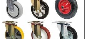 Какие есть виды колес для тележек