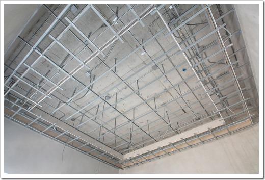 Комплектность потолка Армстронг