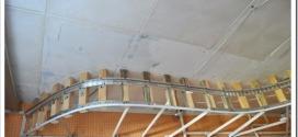 Как делают монтаж двухуровневых натяжных потолков?