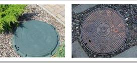Виды канализационных люков и из чего их делают