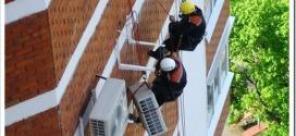 Как устанавливают кондиционер на высоких этажах