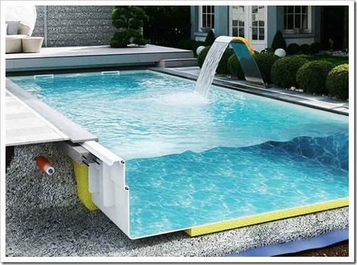 Плюсы композитных бассейнов