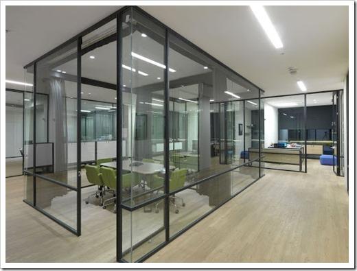 Разновиды перегородок из стекла для зонирования пространства