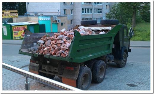 Переработка строительных отходов в щебень