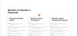 Обзор услуг дизайна интерьера в Харькове от студии ХАТА DESIGN