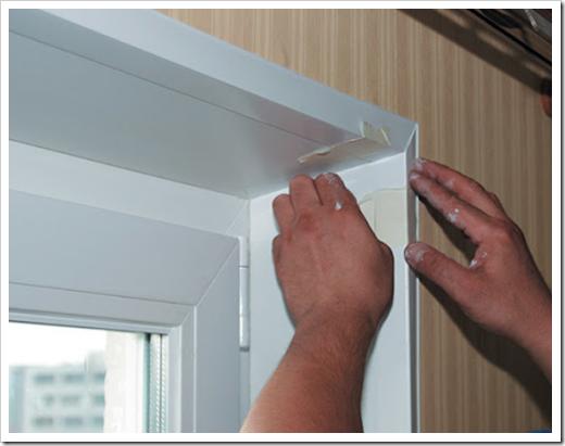 Как сделать внутренний откос пластикового окна