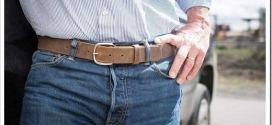 Как выбрать мужской кожаный ремень