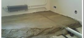Как заливают бетонные полы