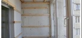 Внутренняя отделка балкона — с чего начать и какие материалы используются
