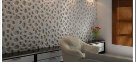 Какие есть виды самоклеящихся 3D панелей для стен