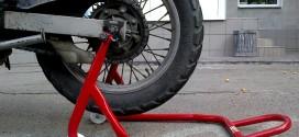 Как сделать подкат для мотоцикла своими руками?
