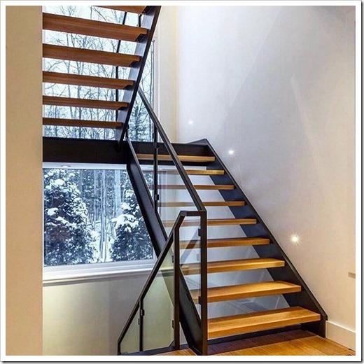 Лестницы на косоурах: идеальный вариант для частного дома
