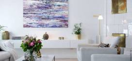 Особенности выбора абстрактных картин для оформления интерьера
