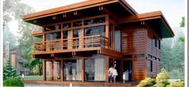 Фахверковые дома и брус: весьма безопасные для проживания строения.
